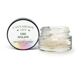 Cannabidiol Life CBD Isolate 5 Grams