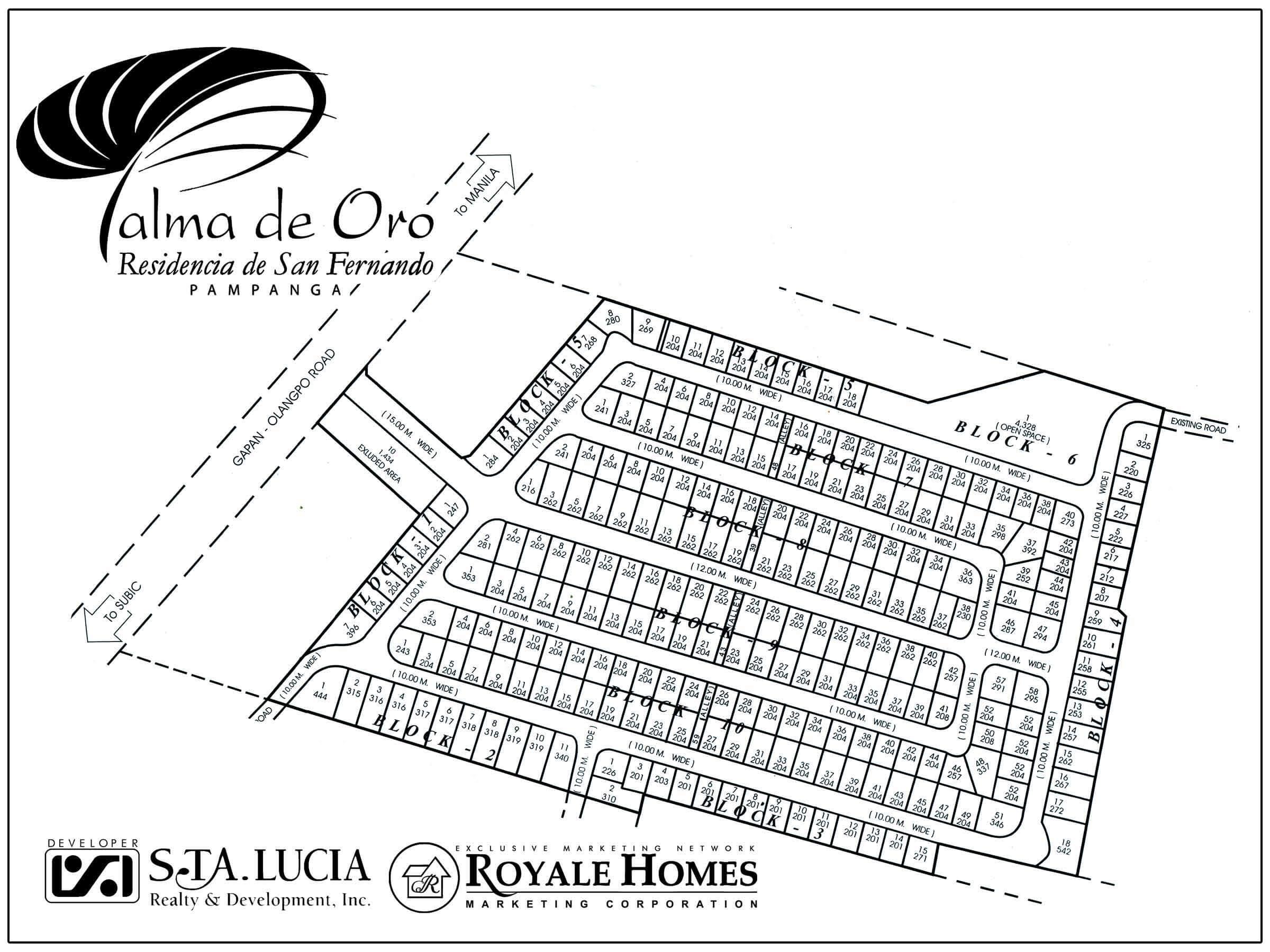 Palma De Oro Royale Homes Marketing Corp