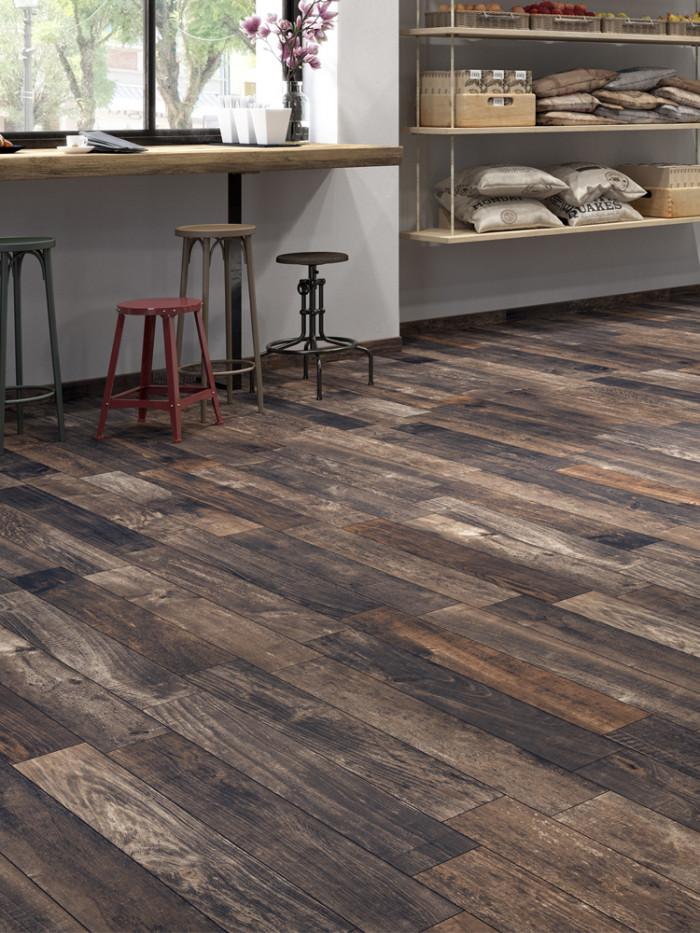inwood black wood effect floor tiles 1000x150 mm