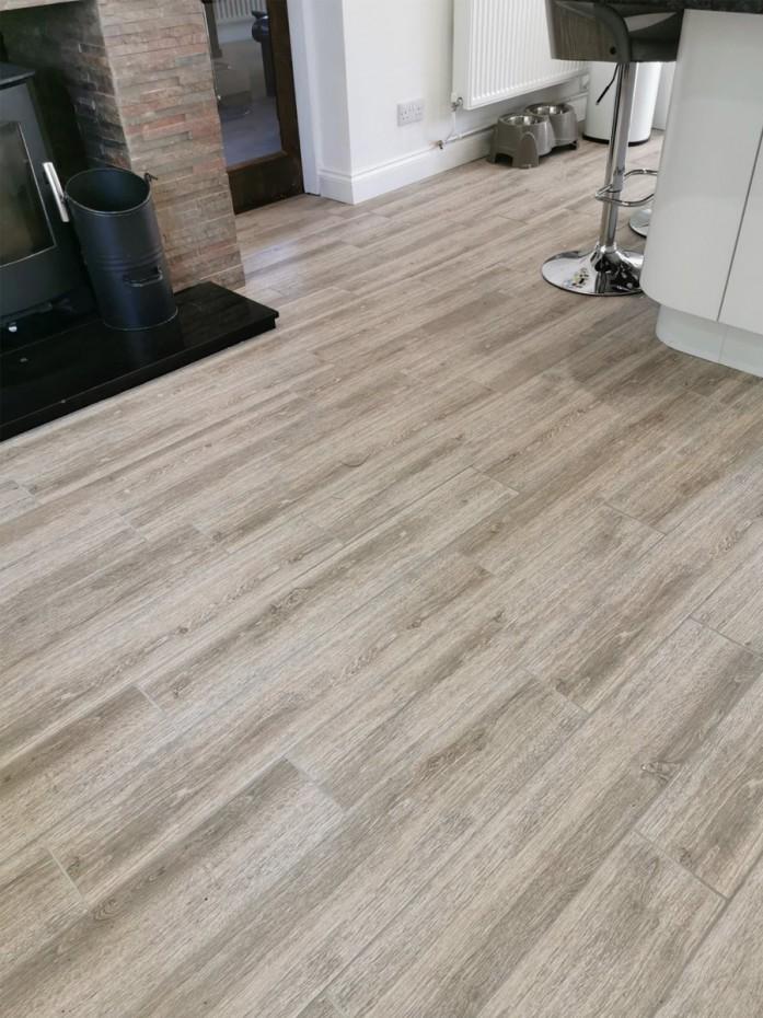 oak wood effect indoor floor tile 900x150 mm