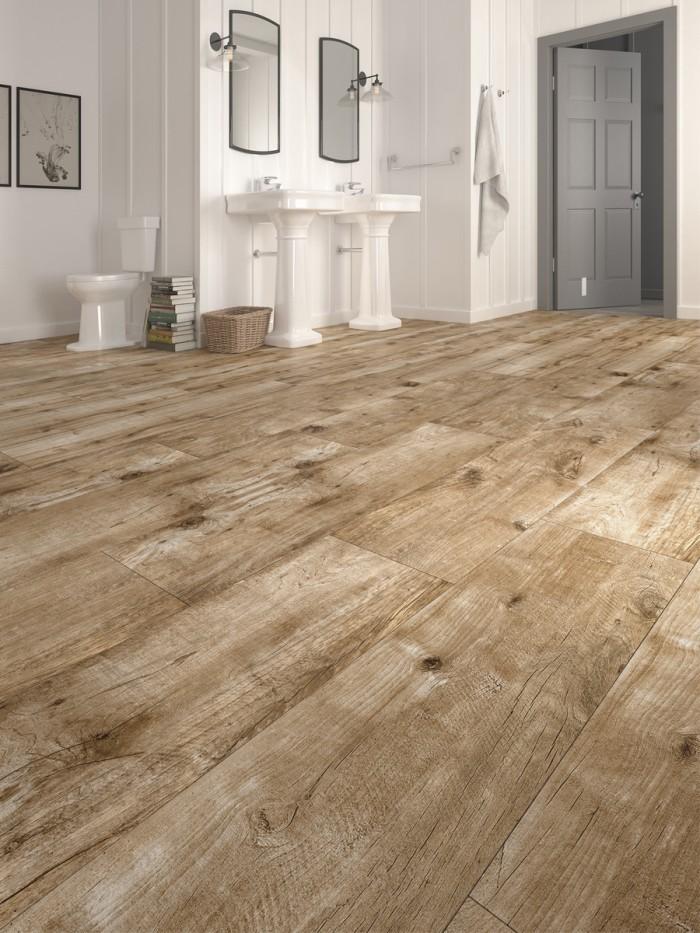 vintage wood effect indoor floor tile 1200x300 mm