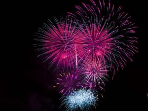 Fireman's Carnival Fireworks @ Bing Crosby Stadium