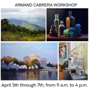 Armand Cabrera Workshop - Studio Painting in Oil and Acrylic @ Art in the Valley