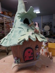 Build a Whimsical Clay House @ Explore Art & Clay