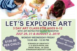 Let's Explore Art @ Strokes of Creativity