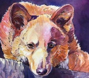 Easy Pet Portraits in Line and Wash @ Art in the Valley