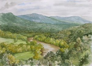 Watercolor Landscapes @ Art in the Valley