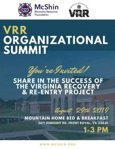 Substance Abuse and Recovery Summit @ Mountain Home Bed and Breakfast