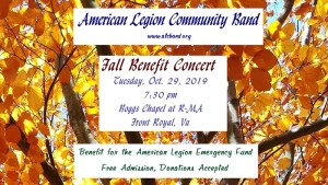 Fall Benefit Concert @ Boggs Chapel