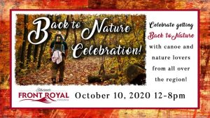 Back to Nature Celebration @ Front Royal, Virginia