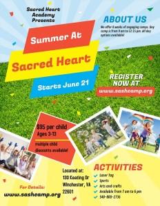 Summer At Sacred Heart @ Sacred Heart