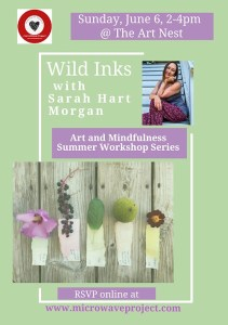 Art and Mindfulness Workshop: Wild Inks @ microWave Project