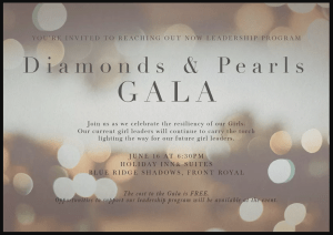 Diamonds and Pearls Gala @ Holiday Inn & Suites