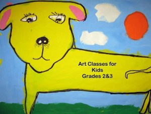 Art Class for 2nd & 3rd @ Strokes of Creativity
