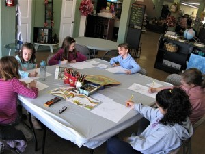Paint Class for Kids Ages 8 and up @ Strokes of Creativity