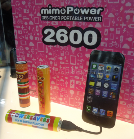 MIMOBOT mimoPower  (Toy Fair 2014)