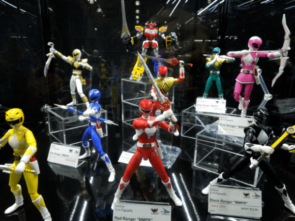 Bandai Power Rangers  (Toy Fair 2014)