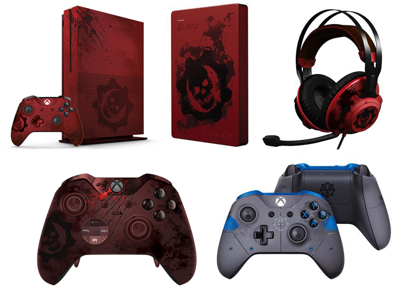 Gears of War 4 Exclusives
