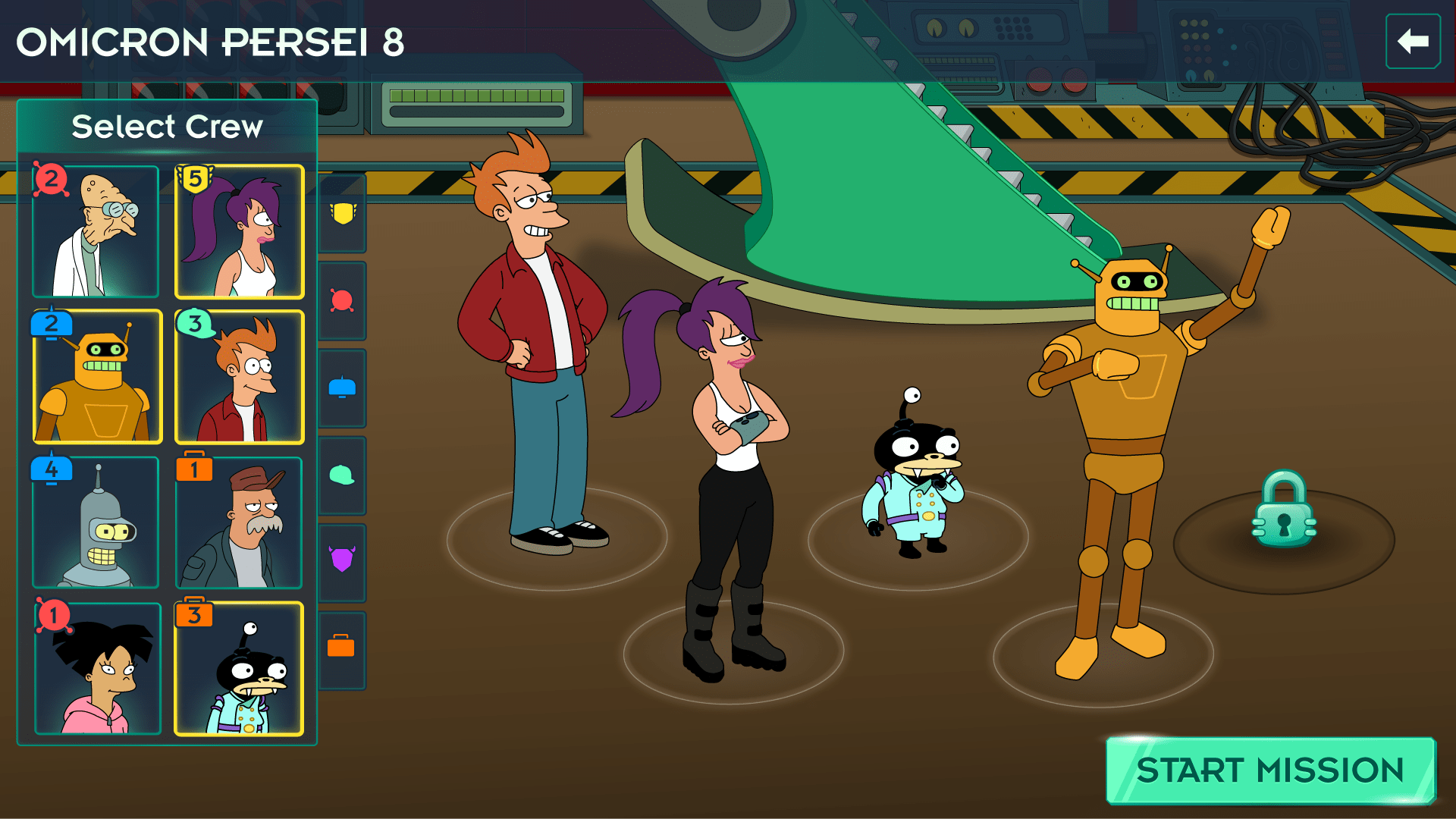 Futurama: Worlds of Tomorrow - Screen 1