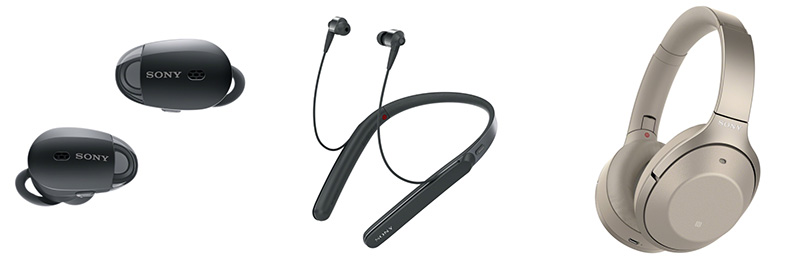 Sony Electronics Headsets 1000X