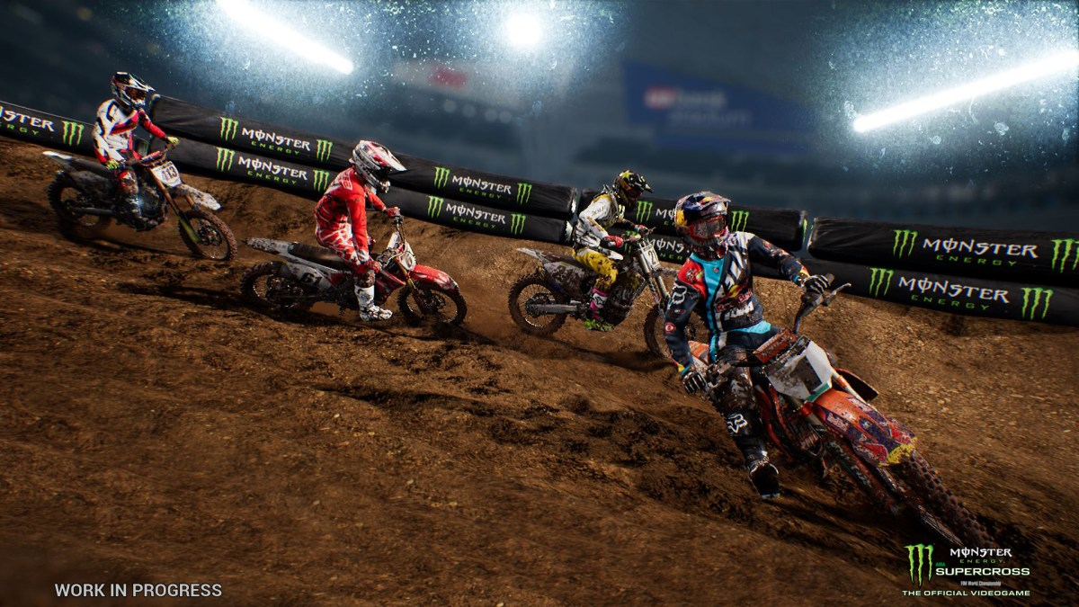 """""""Monster Energy Supercross - The Official Videogame"""" Announced"""