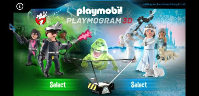 PLAYMOBIL PLAYMOGRAM 3D mobile app