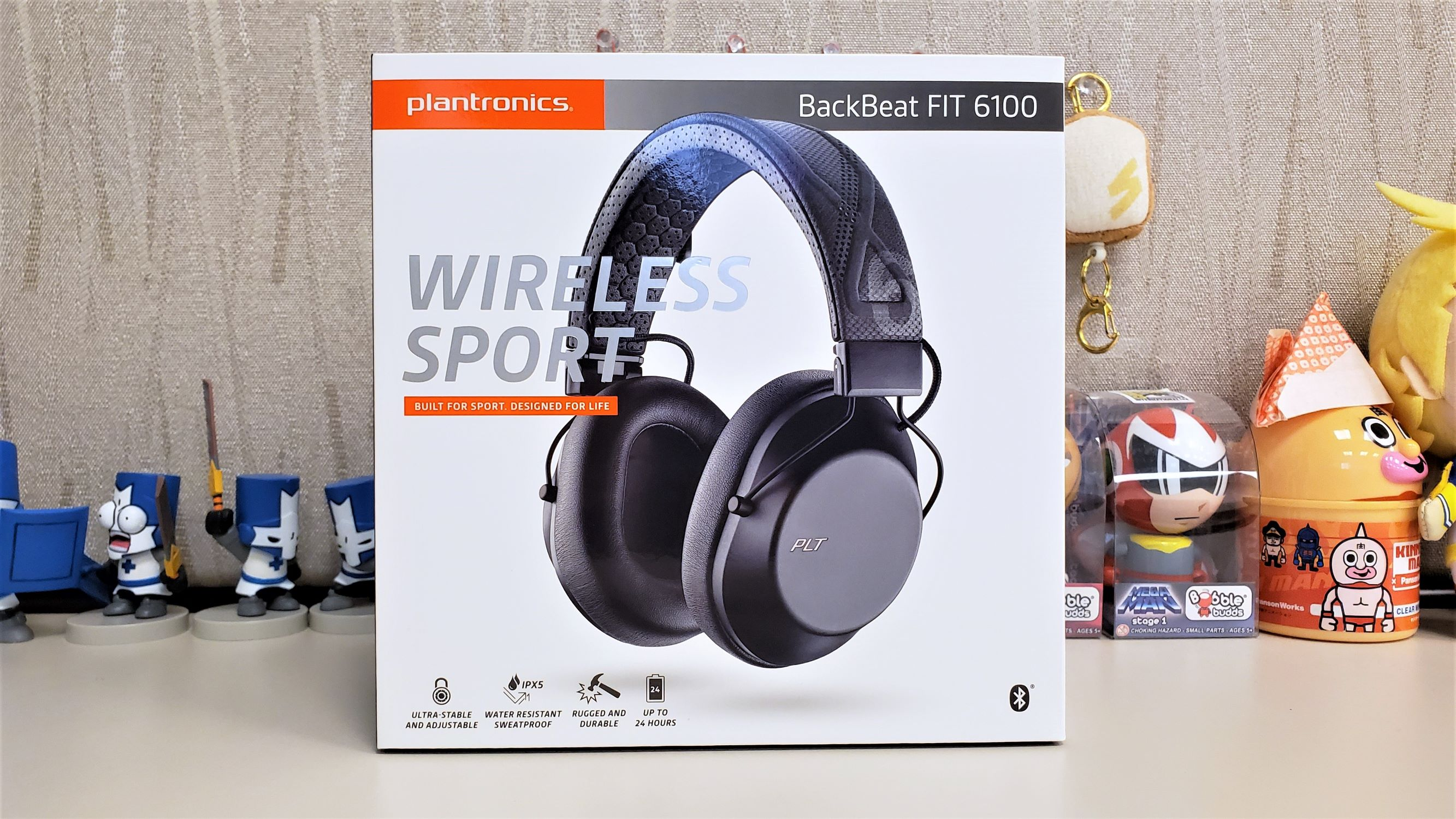 Review Plantronics Backbeat Fit 6100 Wireless Sport Headset