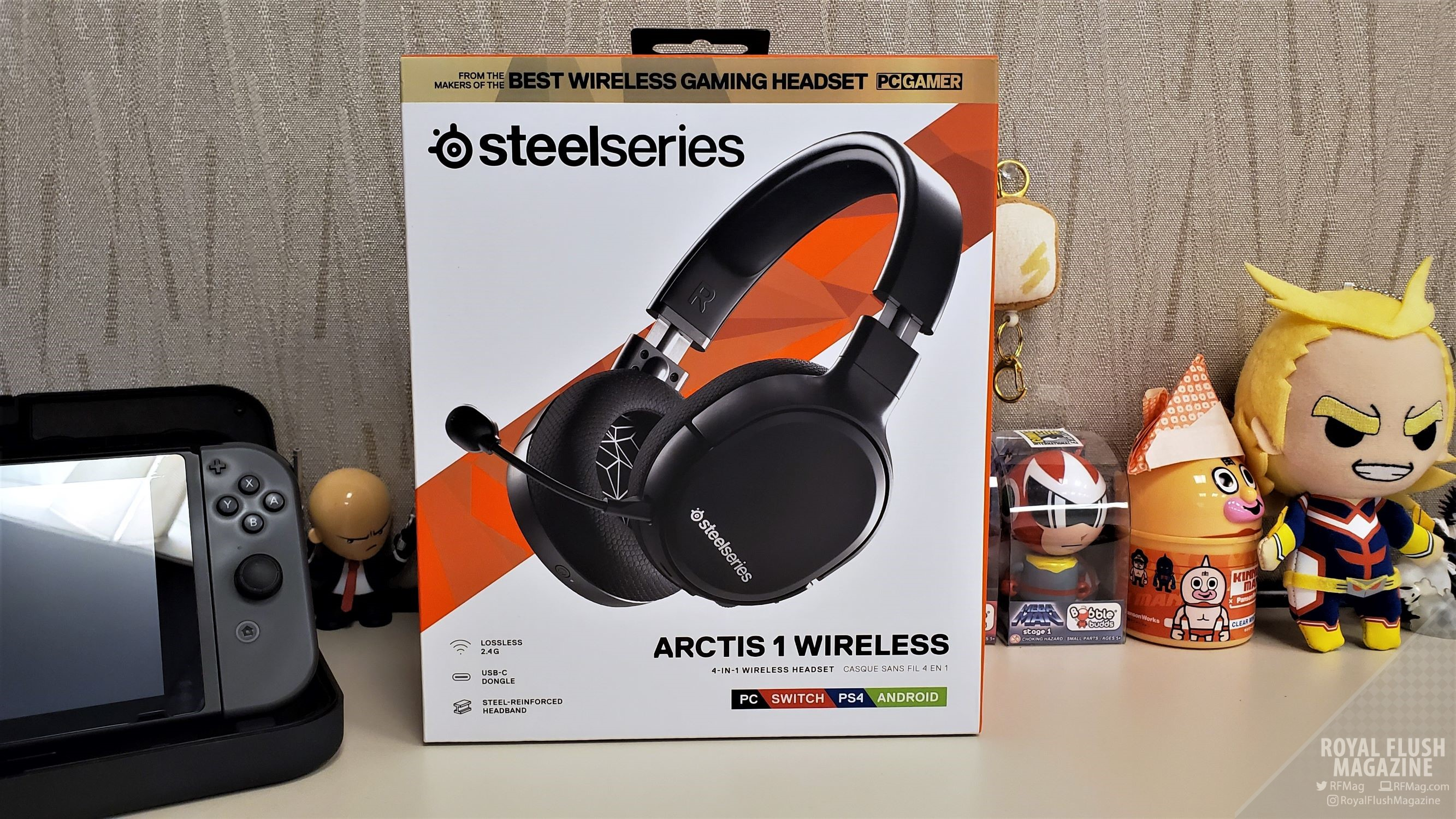 Review Steelseries Arctis 1 Wireless 1st 2 4ghz Headset For Nintendo Switch