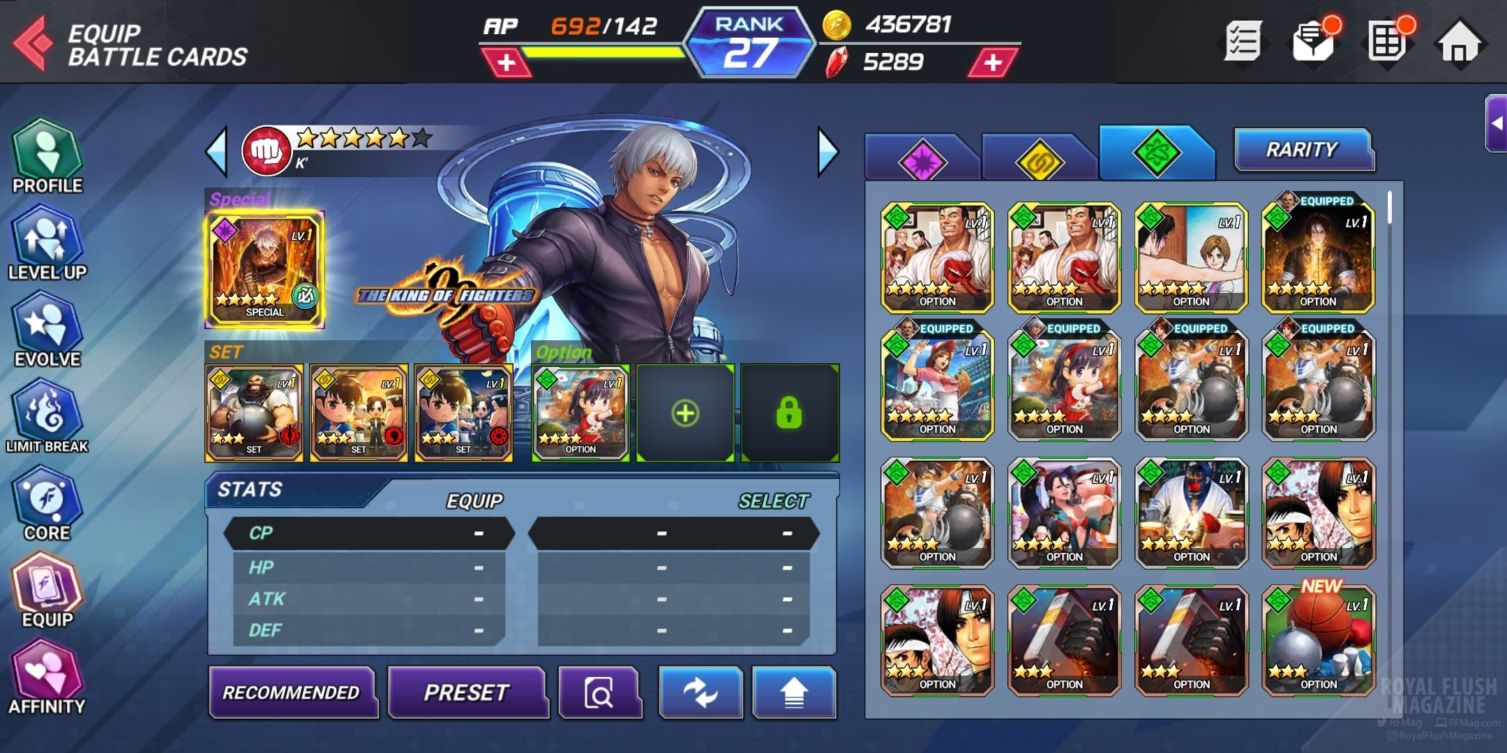 King Of Fighters Allstar Addicting Android Ios Mobile Game