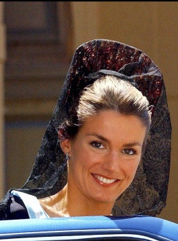 Millinery Style Princess Letizia Royal Hats