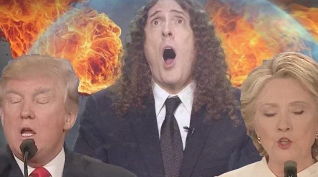 "Bad Hombres, Nasty Women ft. ""Weird Al"" Yankovic (skit)"