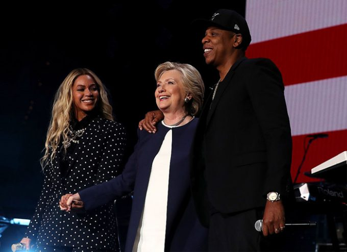Jay-Z & Guests live at a Hillary Clinton event