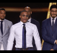 Russell Westbrook Gives Emotional Speech Accepting Most Valuable Player | 2017 NBA Awards