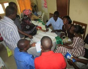 Community Volunteers during Group Work Sessions in Adamawa and Gombe States