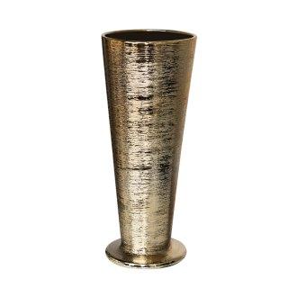 gold-etch-pilsner-flower-vase