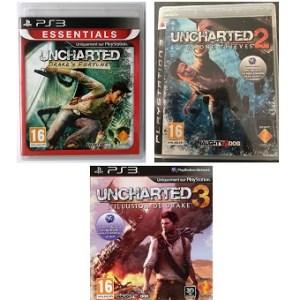 Jeux PS3 Trilogie UNCHARTED