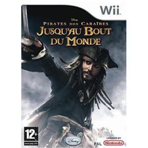 PIRATES DES CARAÏBES JUSQU'AU BOUT DU MONDE Jeu Wii
