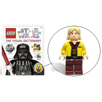 Livre Encyclopédie LEGO STARWARS avec une figurine collector.