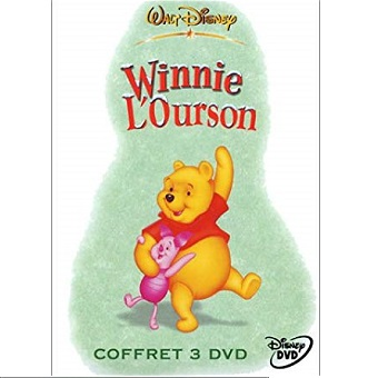 Coffret 3 DVD Disney Winnie L'ourson
