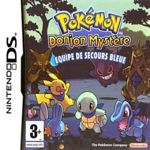 Pokémon Donjon Mystère Equipe de Secours Bleue