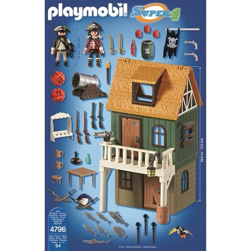 Playmobil 4796 super4 Pirate