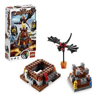Lava Dragon LEGO 3838 Jeu de Société