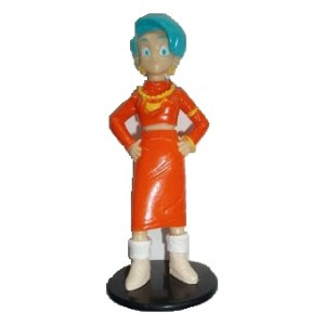BULMA DragonBall GT Fig 1996 sur socle