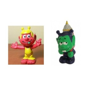 2 Figurines SNIK