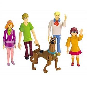Lot Figurines Scooby Doo