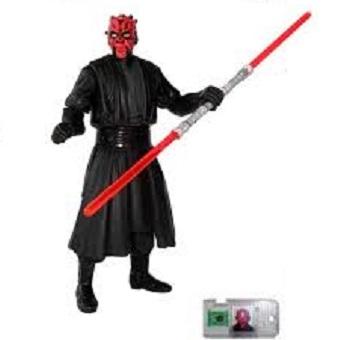 Dark Maul fig Star Wars 1998 Hasbro LFL