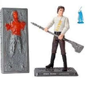 Yan Solo Carbonite fig Star Wars 2005 LFL Hasbro