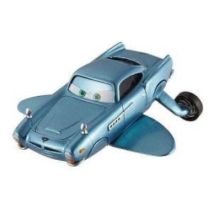 Finn McMissile avec nageoires et propulseurs sous marin rare Cars Disney/Pixar