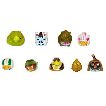 Angry Bird Star Wars lot 9 figurines LFL Hasbro