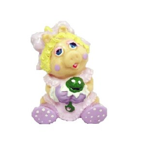 PEGGY LA COCHONNE Babies The MUPPET SHOW Miss PIGGY 1985